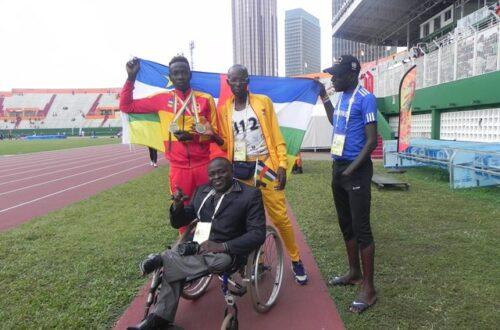 Article : Tristan Gaël Kangbazou donne le sourire au peuple centrafricain