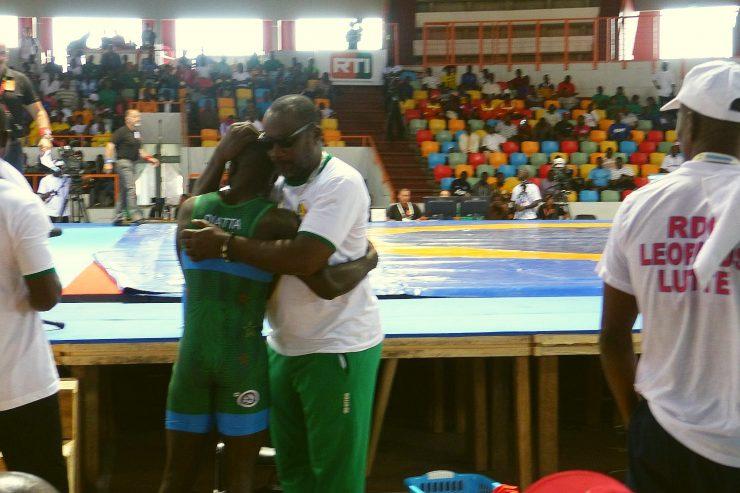Abidjan2017-Lutte-senegal-entraineur