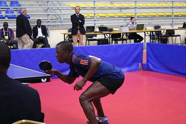 Ali Kanaté en pleine action