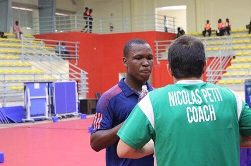 Article : Ali Kanaté : le pongiste qui a fait vibrer les Ivoiriens #Abidjan2017
