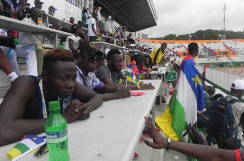 Article : À la rencontre des athlètes centrafricains