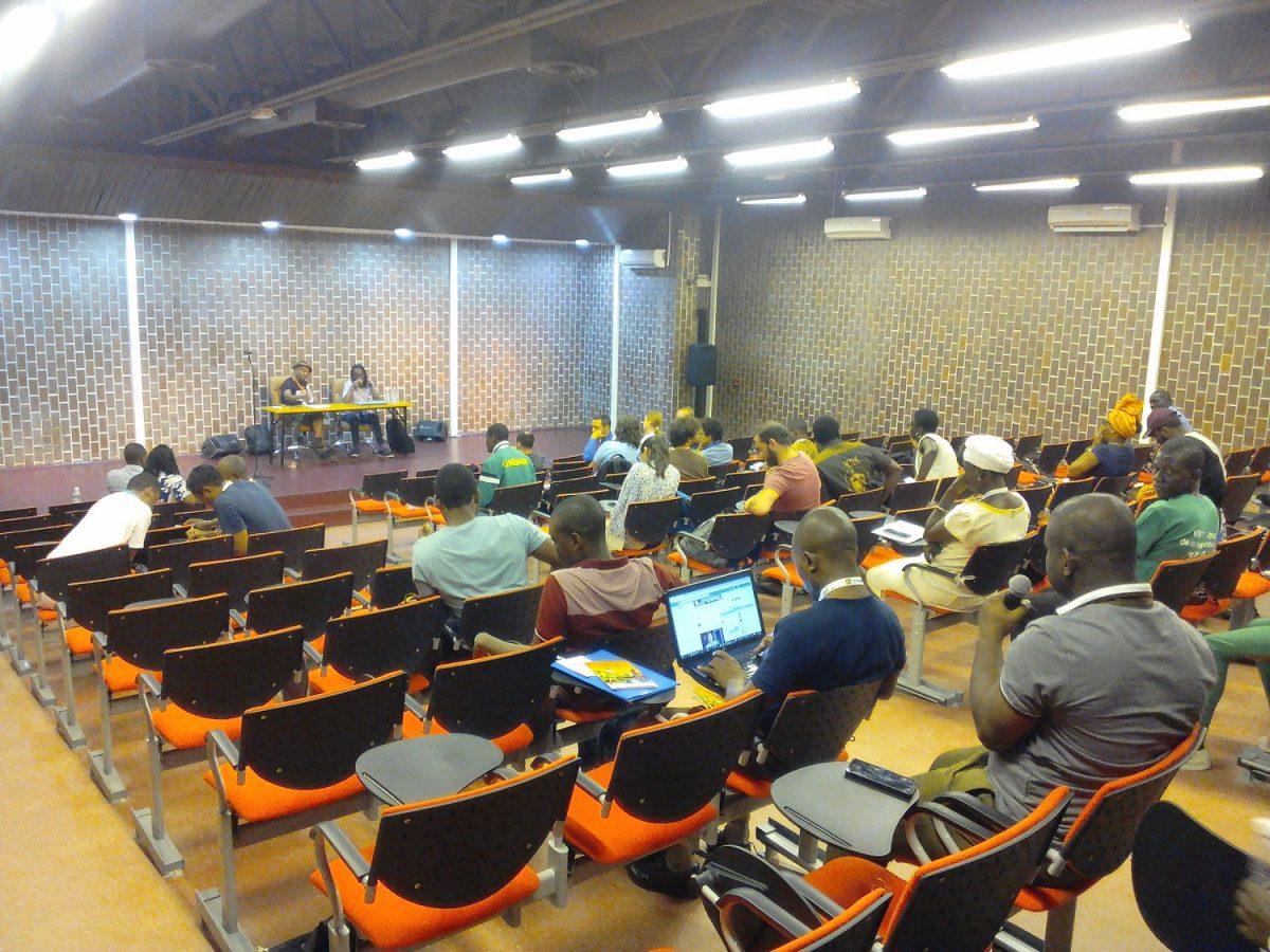 Auditorium de la bibliothèque nationale